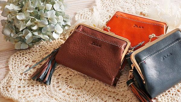 ダコタのレディースがま口財布