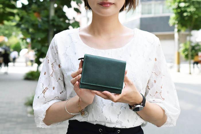 ハレルヤのレディース二つ折り財布