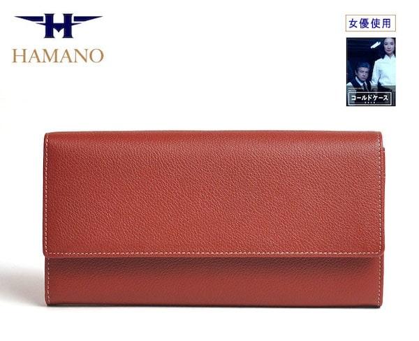 濱野皮革工藝のレディース長財布