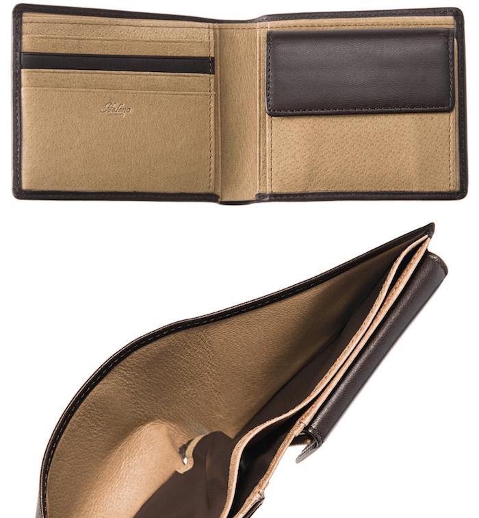 1万円台メンズ革財布「ヘレナ」の内装