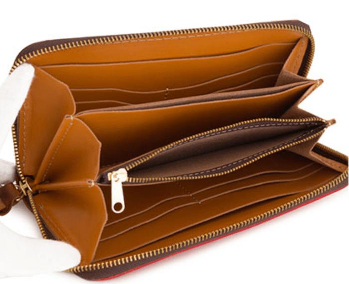 1万円台メンズ革財布「キソラ」の内装