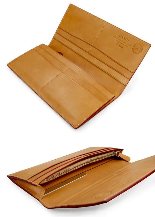 ガンゾのメンズコードバン長財布