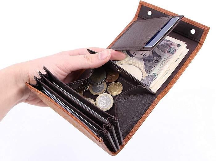エムピウの1万円台のメンズ財布の内装