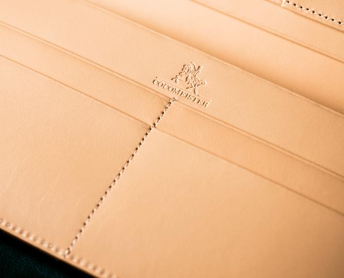 ココマイスターブライドルシリーズ財布の内装