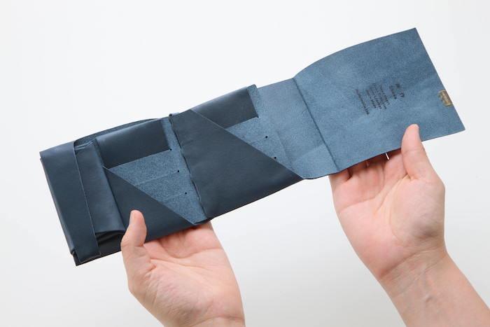 1万円台メンズ革財布「所作」の内装