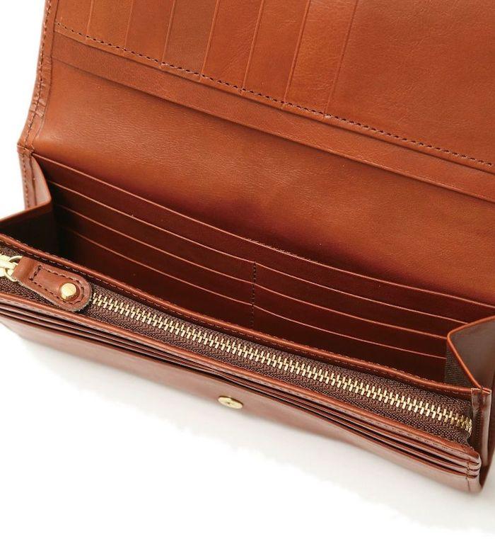 sotのレディース長財布のポケット