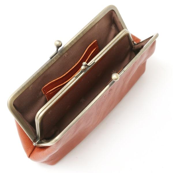 ソットのレディースがま口財布の内装