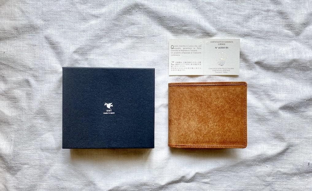 「sot」プエブロ二つ折り財布レビュー。経年変化も期間別に紹介