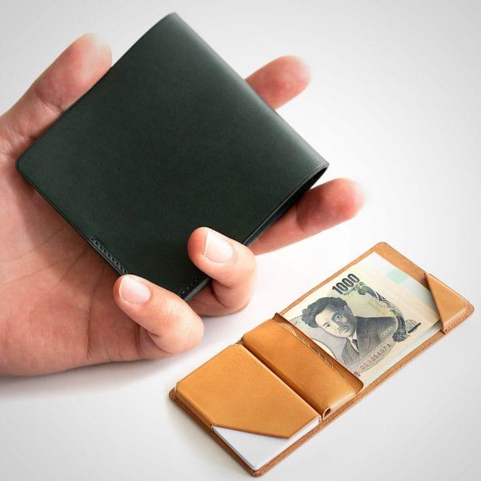 1万円台メンズ革財布「syrinx」