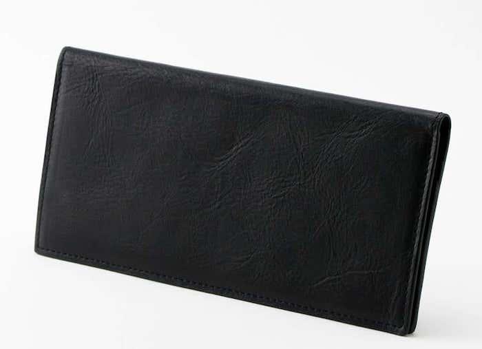 ビジネスレザーファクトリーの薄型長財布