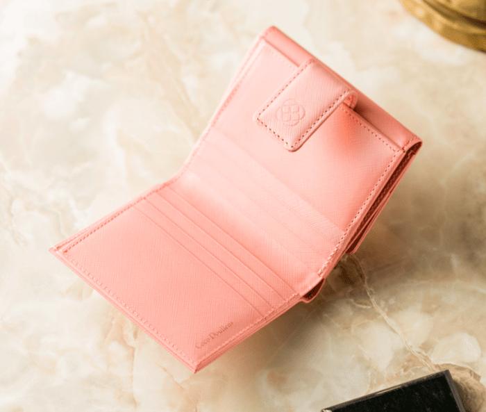 ココデュランのレデュース二つ折り財布の内装
