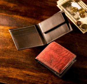 ココマイスターのベテルギウス二つ折り財布