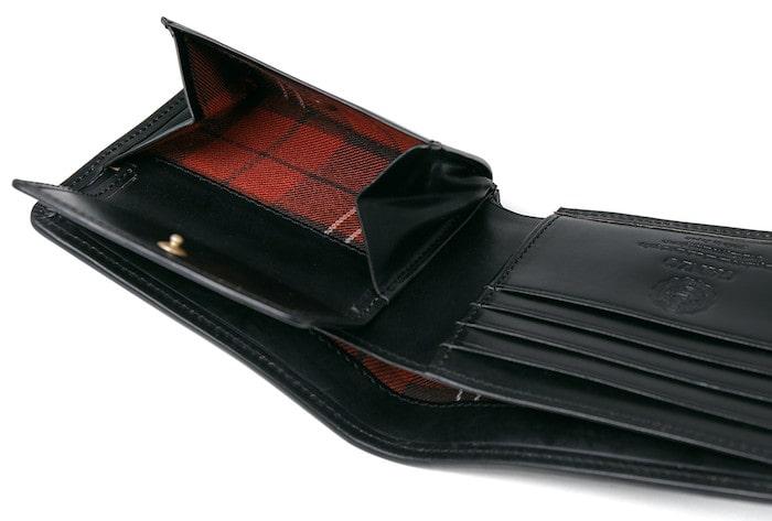ガンゾのGH5二つ折り財布の内装