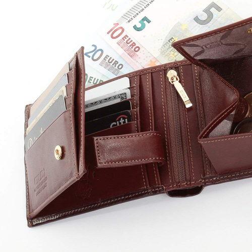 GIUDIの二つ折り財布の内装
