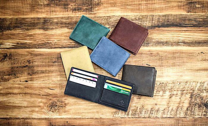 ハレルヤのメンズ二つ折り財布