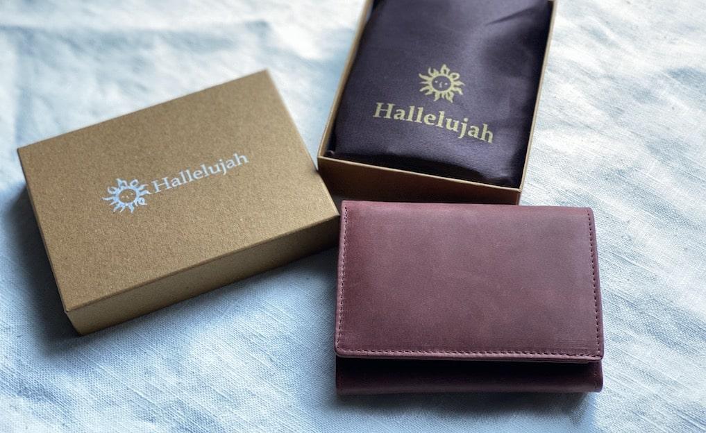 ハレルヤ『Folio二つ折り財布』レビュー。1万円以下でこの品質は予想外…。