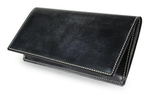 ガンゾのブライドルカジュアル長財布