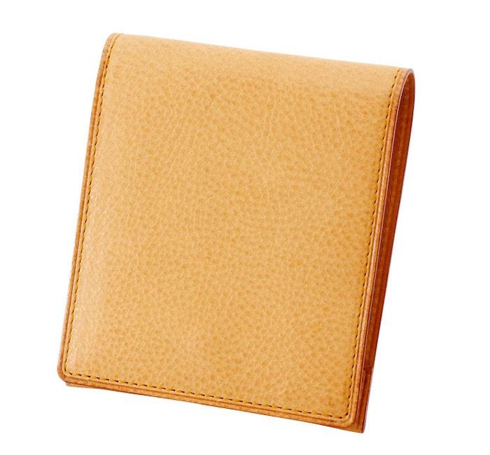 ガンゾのミネルバナチュラル二つ折り財布