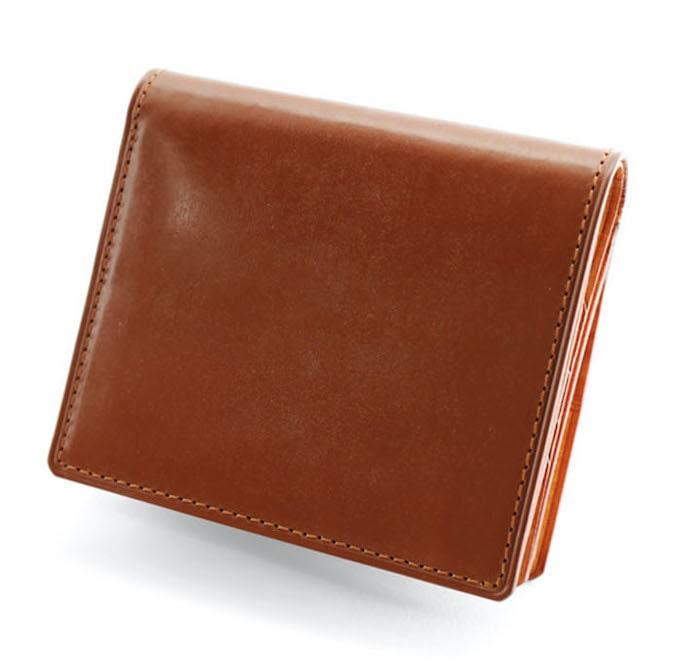 ガンゾのシンブライドル二つ折り財布