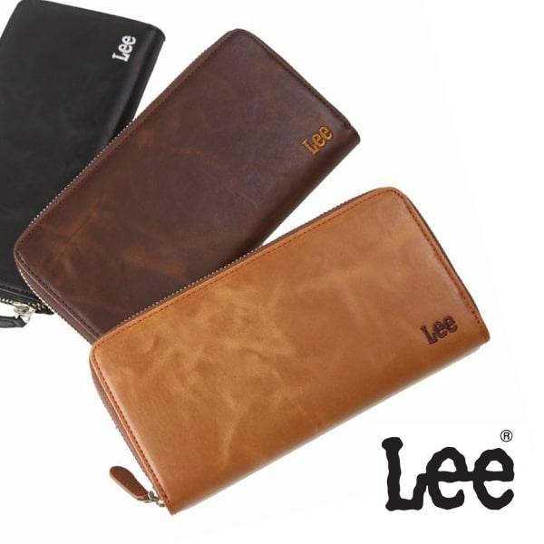 Leeのメンズ革財布