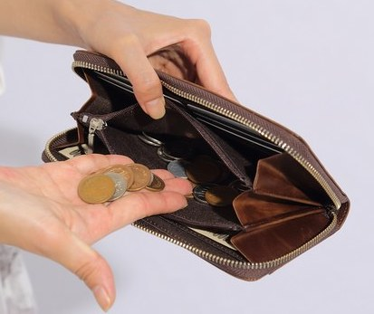 Leeのメンズ革財布の使用感