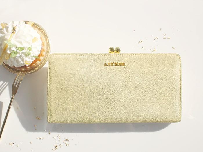 エーテルの長財布「アリュール」
