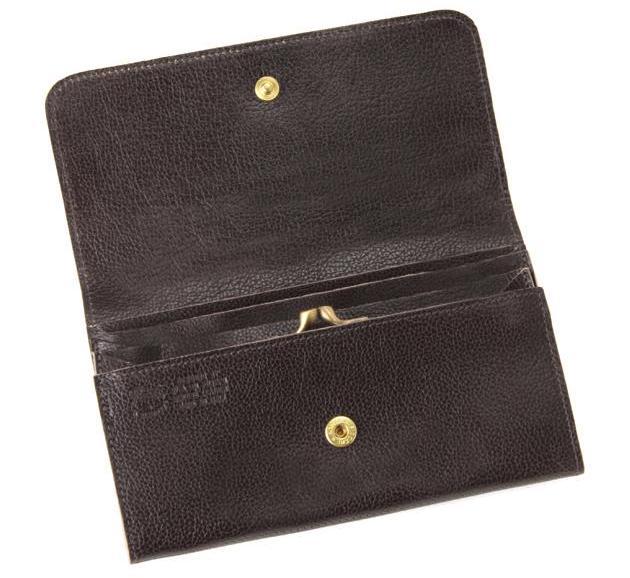 イルビゾンテの「中ガマ口長財布」は中にがま口がある