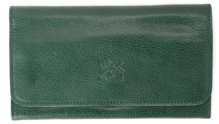 イルビゾンテの「中ガマ口長財布」