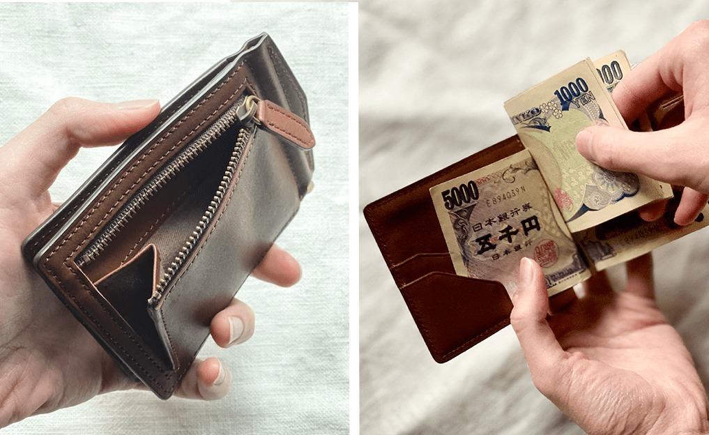 土屋鞄『ビークル・マネークリップ』半年使ってレビュー。小銭入れ付きで超便利
