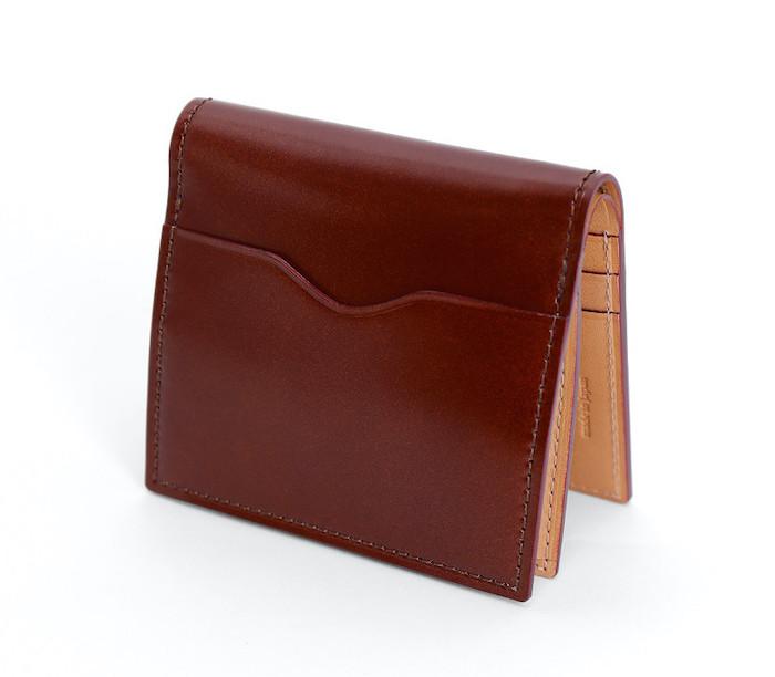 ganzoコードバンコンパクト財布