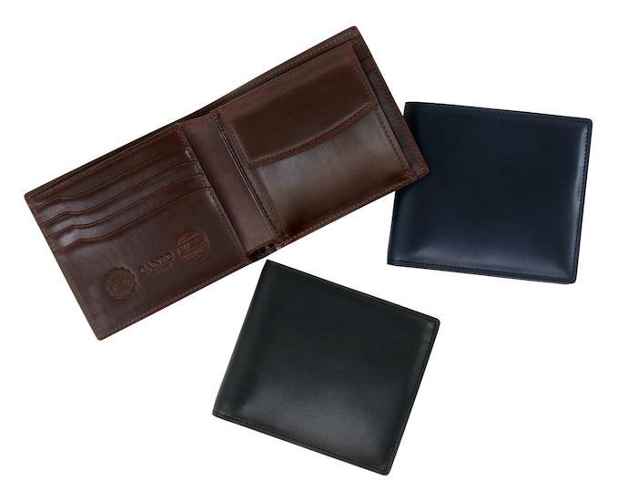ganzoミスティック二つ折り財布