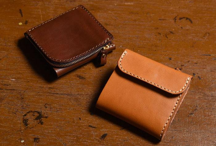 ヘルツの二つ折り財布