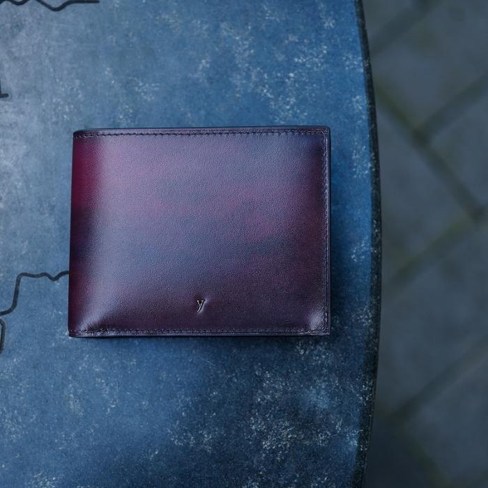 yuhaku二つ折り財布