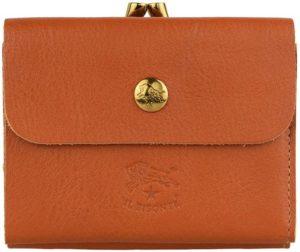 イルビゾンテ二つ折り財布がま口ウォレットスモールタイプ