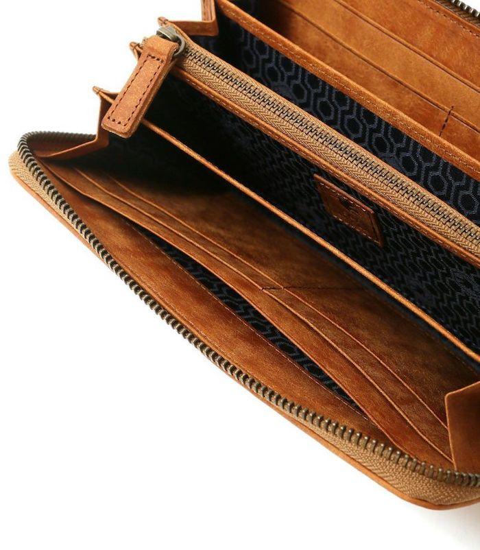 sotプエブロレザー長財布の内装