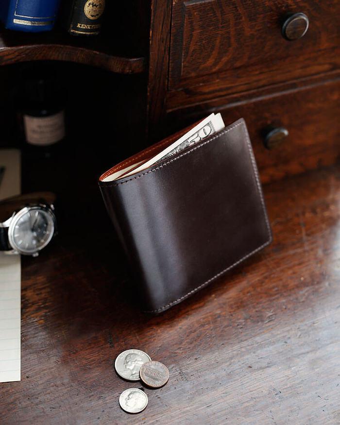 土屋鞄製造所ブライドル二つ折り財布
