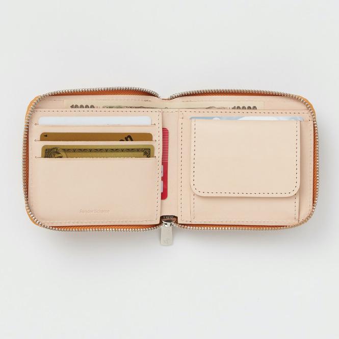 エンダースキーマ「horizontal zip purse」の内装