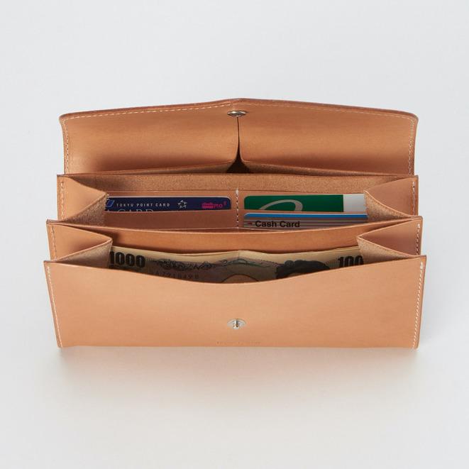 エンダースキーマ「long wallet」の内装