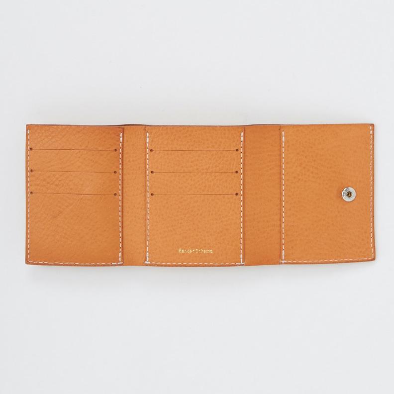 エンダースキーマ「trifold wallet」の内装