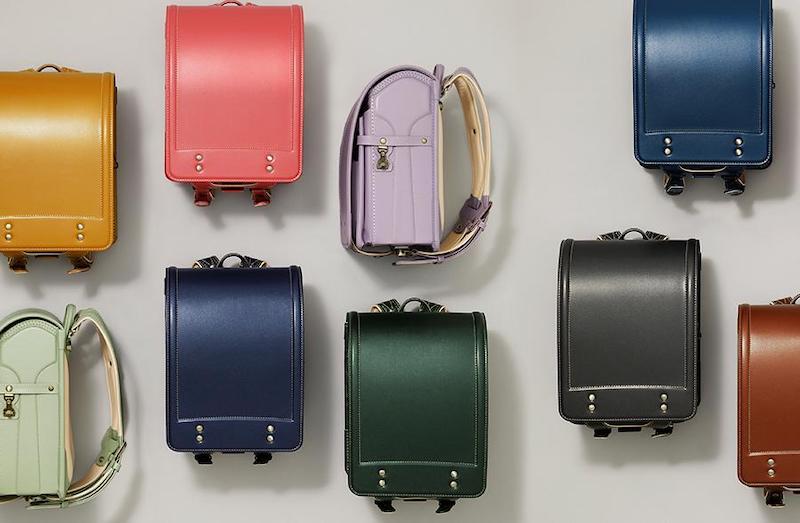 土屋鞄ランドセルのカラーバリエーション